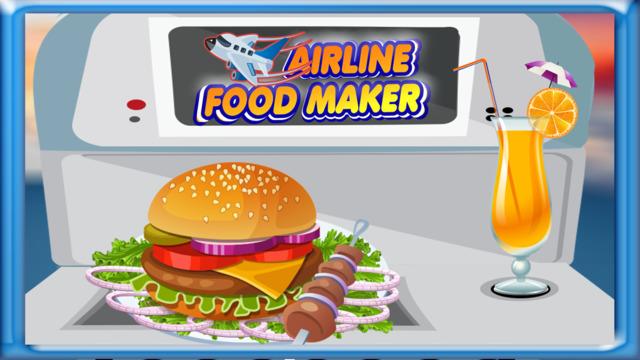 航空食品生产商 - 使汉堡&三明治在这架飞机烹饪比赛