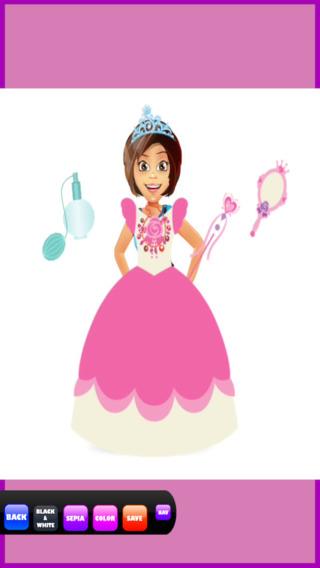 城堡公主化妆 - 美丽的脸编辑女孩 免费