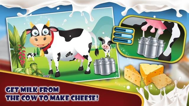 奶酪厂 - 烤奶酪这个烹饪狂热游戏小厨师
