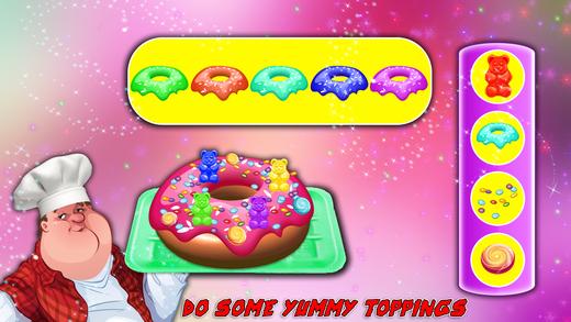 甜甜圈工厂&烹饪厨师 - 甜点制造商