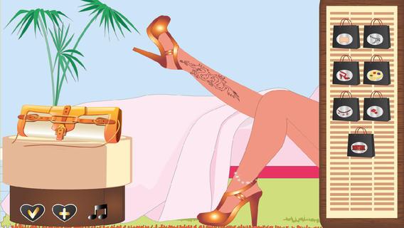 靓鞋美少女游戏