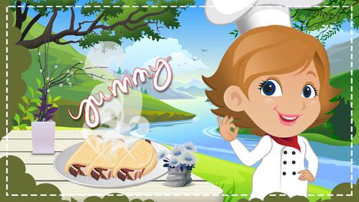 牛排炸玉米饼制造商 - 让快餐在这个烹饪发烧游戏的星级厨师
