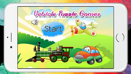 车辆拼图幼儿和孩子们免费