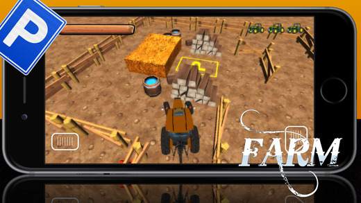 3D农用拖拉机停车处学校疯狂模拟器