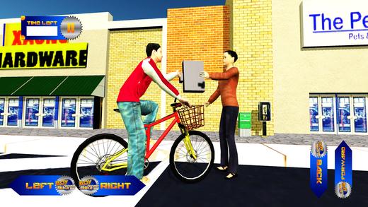 男孩自行车骑手 - 小偷追逐和自行车运行模拟器