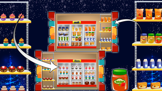 构建超市 - 商场游戏