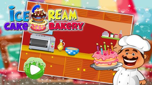 冰淇淋蛋糕面包 - 疯狂烹饪厨师及剧情游戏明星厨师