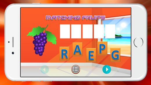 学习水果词汇幼儿园
