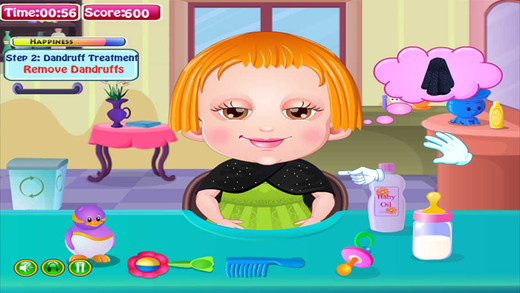 可爱宝贝发型设计