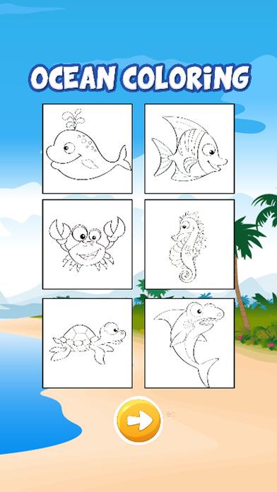 美人鱼海洋图画书为孩子们的游戏