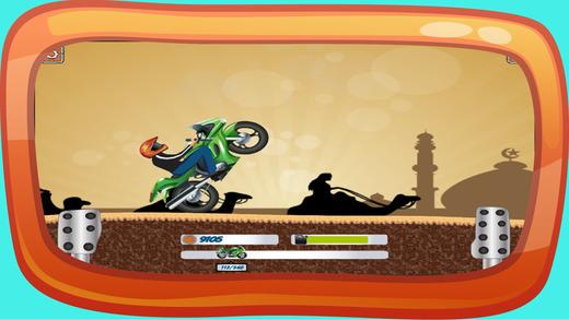 在埃及的摩托车赛车