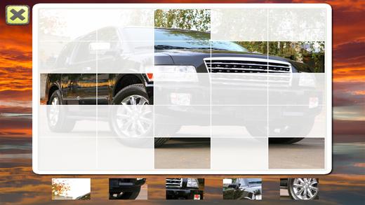 一个有趣的益智为孩子们谁爱汽车和卡车! 45拼图