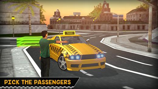 博士疯狂出租车真实城市驱动模拟器3d