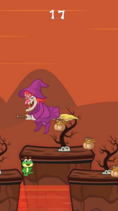 女巫魔法奔跑 ! 最好的应用程序和趣味 上瘾的儿童游戏,上瘾的益智物理应用