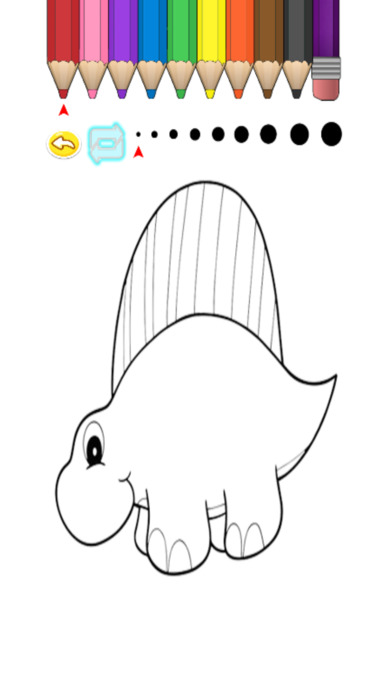 兒童圖畫書 - 可愛的卡通恐龍3