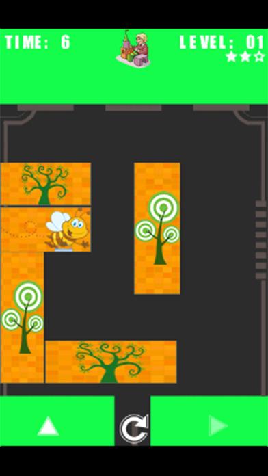 滑动 ABC 座:解锁蜜蜂的益智游戏为孩子们