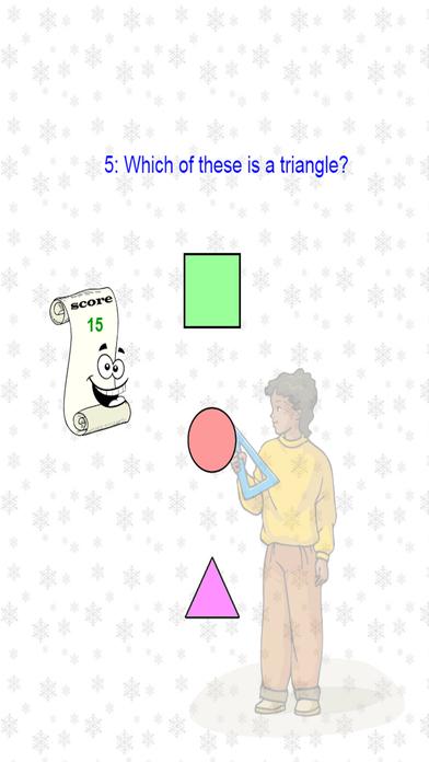 数学形状幼儿园 - 几何教育
