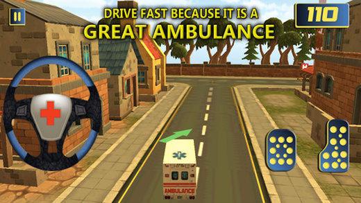 驾驶城市紧急救护任务