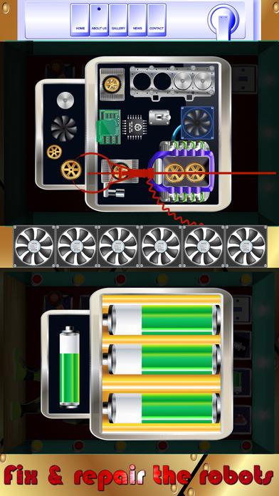 机器人修复和修复它 - 修复游戏