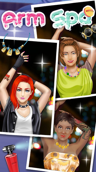 公主手臂SPA - 时尚女孩游戏