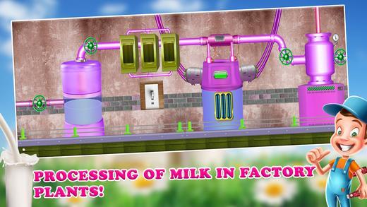 调味牛奶厂 - 奶牛场产品
