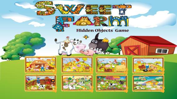 甜农场游戏隐藏的对象