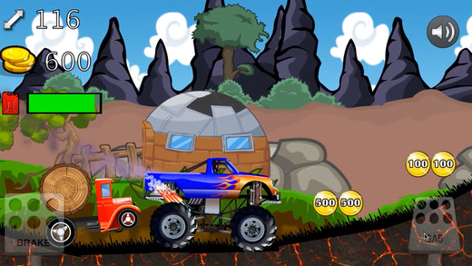 4 X 4 的怪物 Mmx 卡车山攀登赛车-免费赛车游戏