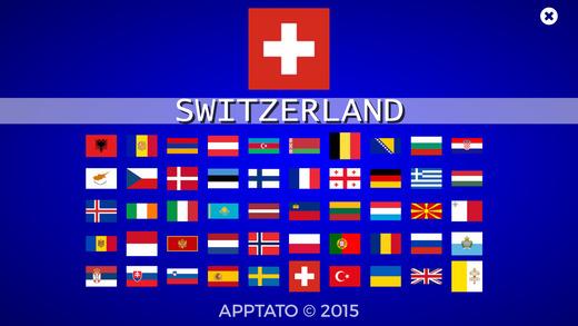 欧洲国家测验 (完整版)
