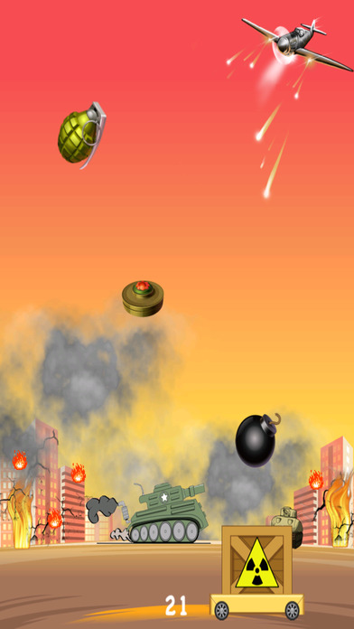 炸弹之怒入侵 - 快速下降惊恐发作 免费