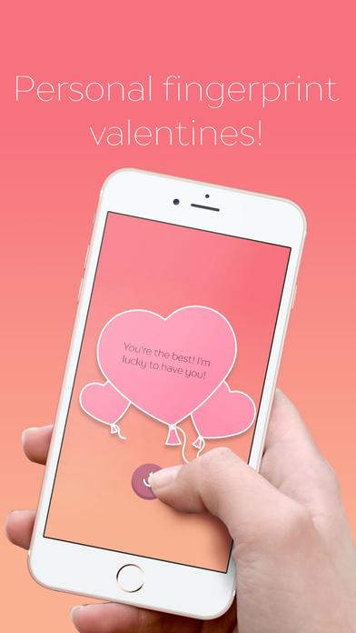 爱情扫描仪:个人情人节指纹卡