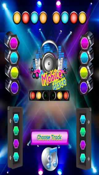 移动迪斯科 - DJ音乐迪斯科灯光和声音