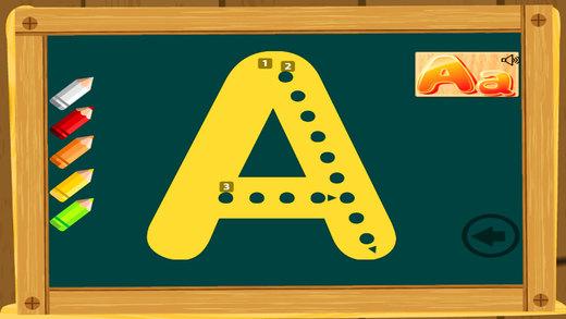 写信和阅读ABC,学习写作的孩子