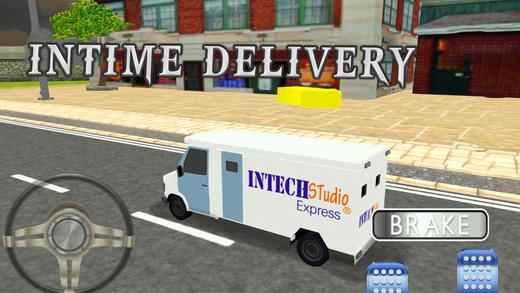 快递卡车模拟器 - 真正的货物配送及货车驾驶游戏