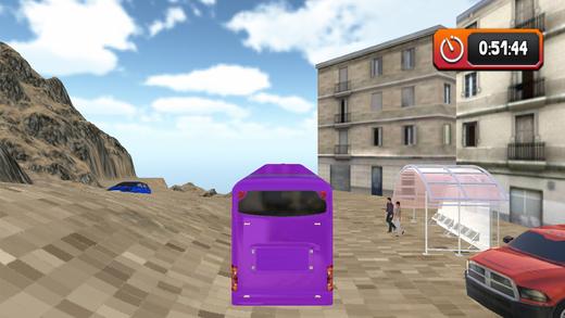越野公共交通公共汽车和3D驱动程序模拟器