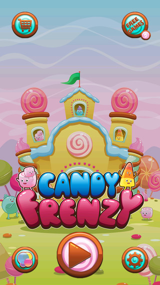 疯狂糖果 - Candy Frenzy Free Game