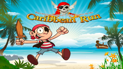 海盗鲨鱼饵的小海盗在加勒比海运行