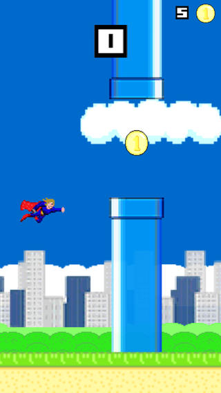 队长超级花花公子 - 极速飞超级英雄