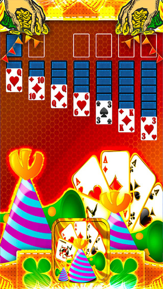 卡富一方接龙复古猛砸 Cards Fortune Party Solitaire Retro Bash