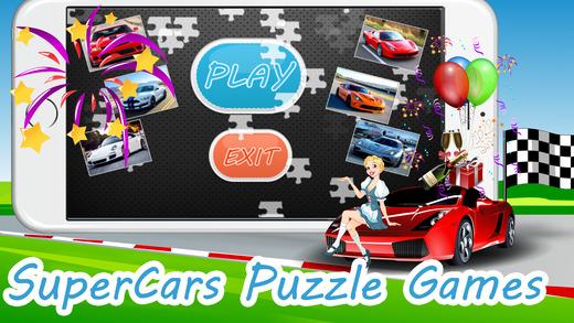 兒童益智遊戲為幼兒遊戲:超級跑車跑車