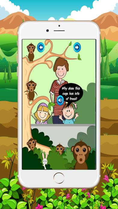了解孩子(动物园)英语会话:提高听力技能,阅读英文。