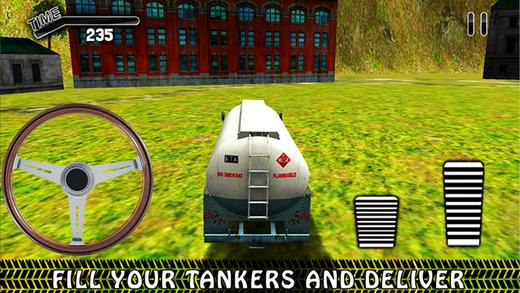 越野驾驶油罐车 - 货车司机