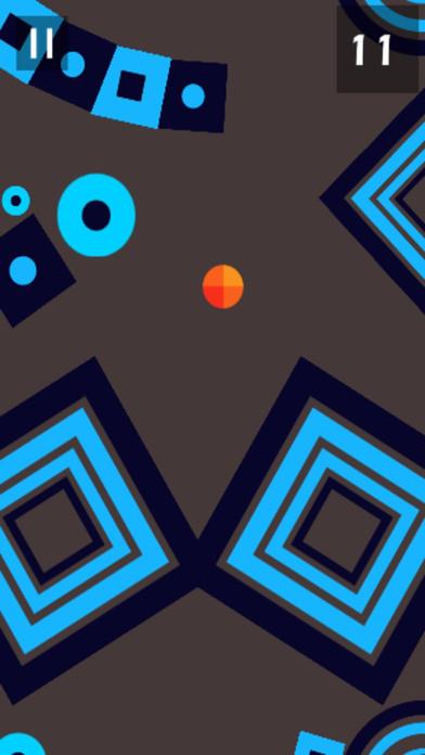 形状世界中的橙球迷失