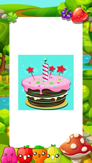 着色活动生日蛋糕和蛋糕店