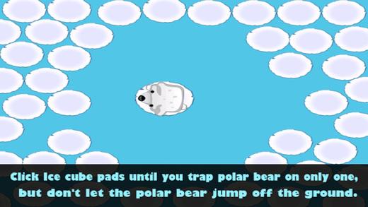 北极熊撤退 - 冰爽水样逃生 免费