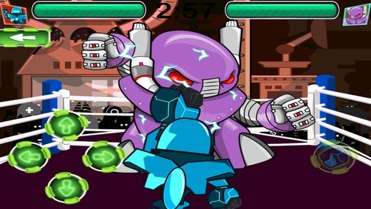 Rock'em机器人拳击手的MMA