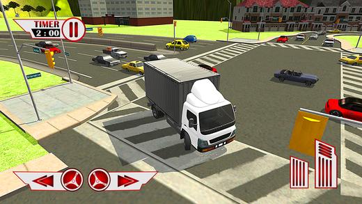 超市推车运输&货物运输卡车