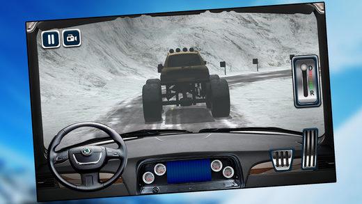 怪物卡车模拟器 - 3D卡车模拟和停车场游戏
