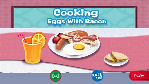 培根煎蛋做早餐手机游戏