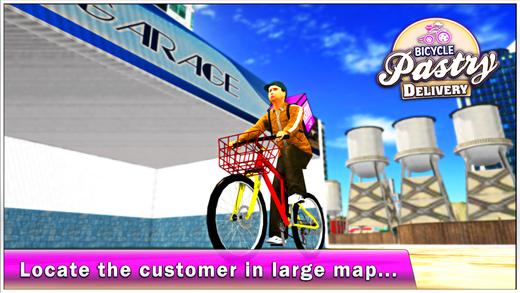 自行车糕点送货&城市自行车车手Sim