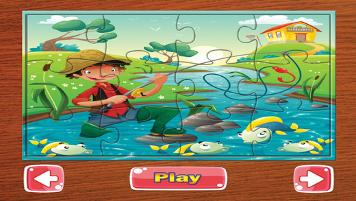 拼图益智游戏为孩子和一年级